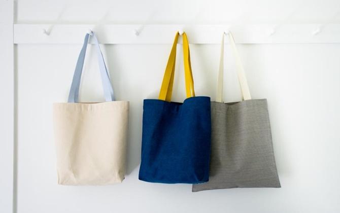 may túi vải, May túi vải Tote và Nỉ cực độc đáo, đơn giản dễ dàng thực hiện tại nhà